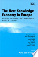The New Knowledge Economy in Europe