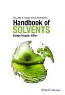 Handbook of Solvents, Volume 2