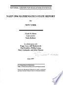 NAEP 1996 Mathematics State Report for New York