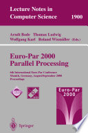 Euro Par 2000 Parallel Processing