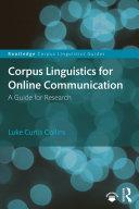 Pdf Corpus Linguistics for Online Communication Telecharger