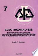 Electroanalysis
