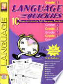 Language Quickies Gr 3  Book PDF