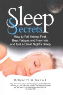 Sleep Secrets Book
