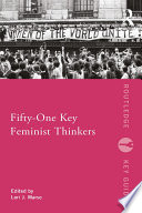 Fifty One Key Feminist Thinkers Book
