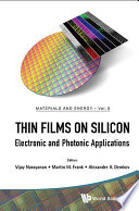 Thin Films on Silicon Book