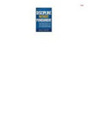 Discipline Without Punishment