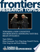 Towards a New Cognitive Neuroscience: Modeling Natural Brain Dynamics