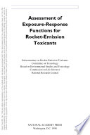 Assessment of Exposure Response Functions for Rocket Emission Toxicants