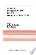 Clinical Investigation of the Microcirculation Book