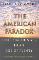 Pdf The American Paradox