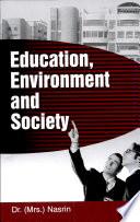 Education  Environment And Society Book