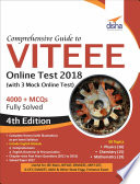 Comprehensive Guide to VITEEE Online Test with 3 Online Tests - 4th Edition