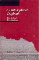 A Philosophical Daybook
