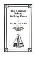 The Romance Behind Walking Canes Book