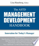 The ASTD Management Development Handbook Book