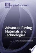 Advanced Asphalt Materials and Paving Technologies Book