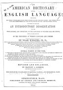 An American Dictionary of the English Language