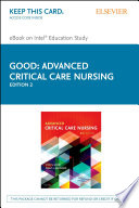 Advanced Critical Care Nursing E Book