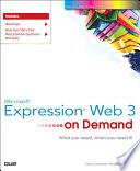 Microsoft Expression Web 3 On Demand