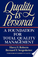 Free Quality Is Personal Book
