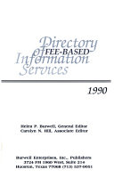 Directory Of Fee Based Information Services