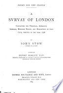 A Svrvay of London