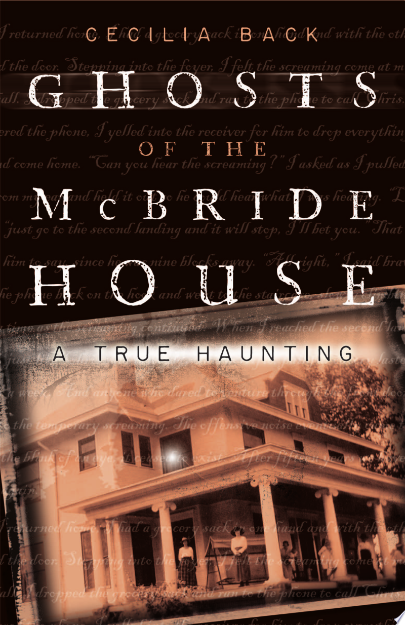 Ghosts of the McBride House poster