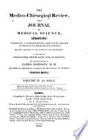 The Medico-chirurgical Review, and Journal of Medical Science. Analytical Series