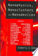 Nanophysics  Nanoclusters and Nanodevices