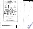 A Journal of the Life of     Will  Caton  Written by his own hand Book