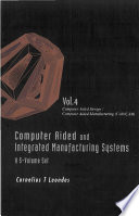 Computer Aided and Integrated Manufacturing Systems  Computer aided design Book