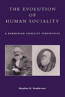 The Evolution of Human Sociality