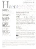 European Journal of Haematology