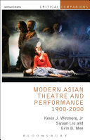 Modern Asian Theatre and Performance 1900-2000