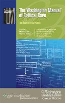 Pdf The Washington Manual of Critical Care