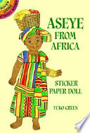 Aseye from Africa Sticker Paper Doll