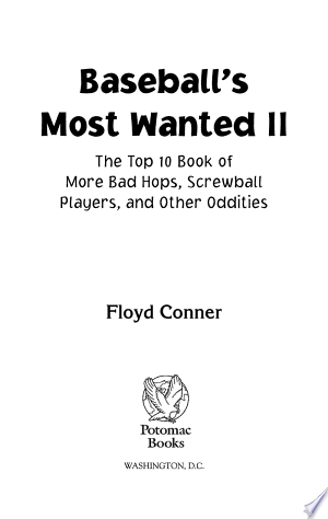 Download Baseball's Most Wanted™ II Free Books - EBOOK