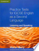 Practice Tests For Igcse English As A Second Language Listening And Speaking