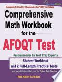 Comprehensive Math Workbook for the AFOQT Test