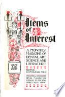 Dental Items of Interest