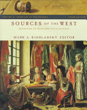 Sources of the West  From the 1600 to the present Book