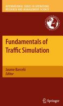 Pdf Fundamentals of Traffic Simulation