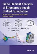 Finite Element Analysis of Structures through Unified Formulation [Pdf/ePub] eBook