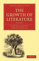 The Growth of Literature