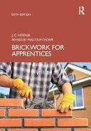 Brickwork for Apprentices