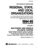 Encyclopedia of Associations Regional  State  and Local Organizations 1994 95