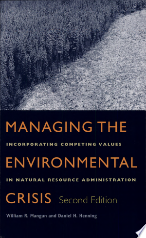 Download Managing the Environmental Crisis Free Books - Home