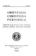 Orientalia christiana periodica