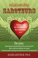 Pdf Relationship Saboteurs